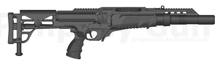 'Realistic' Shotgun by EinhanderZwei