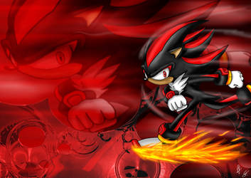 Shadow the Hedgehog by Twice-ART