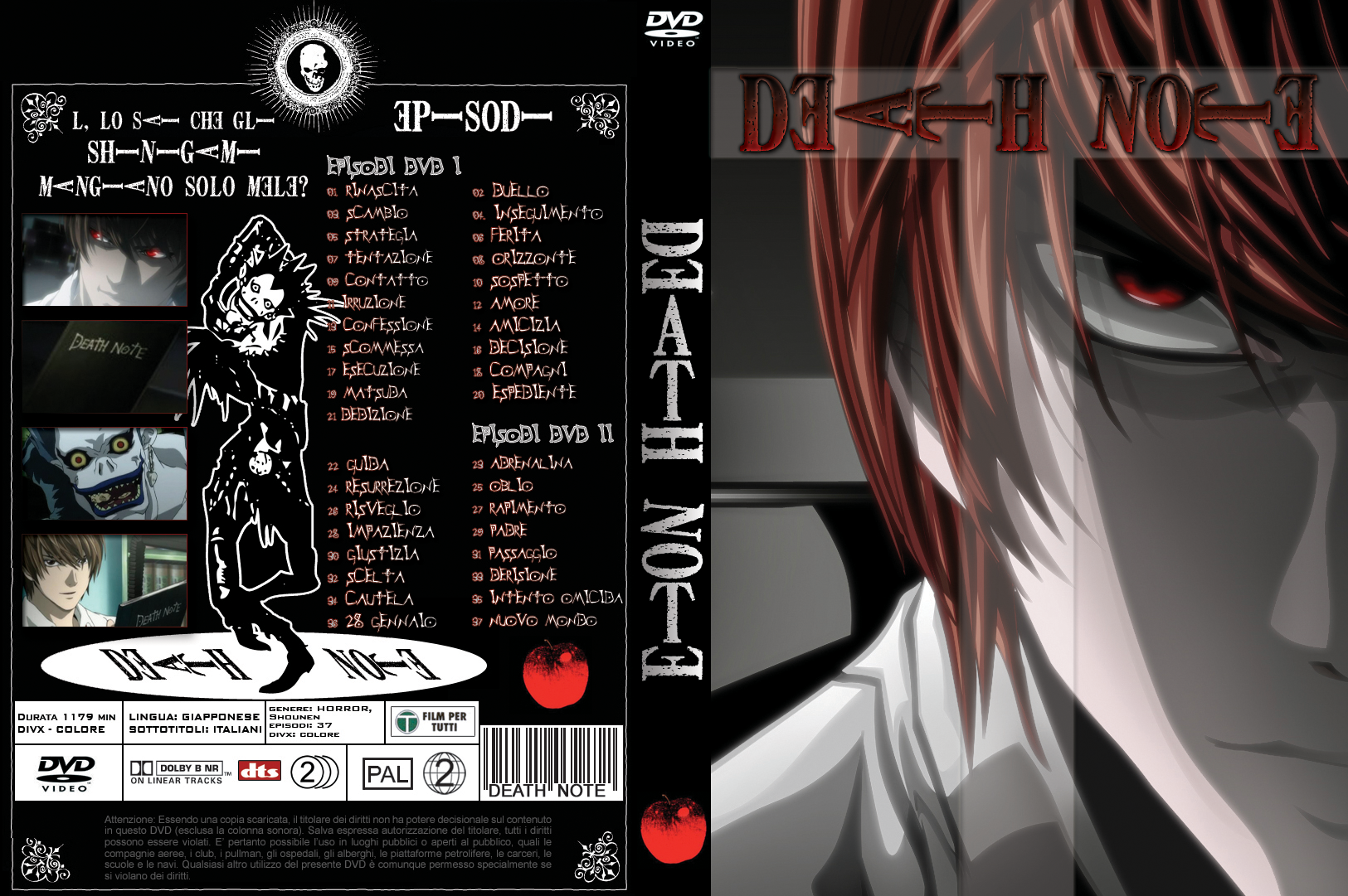 Death Note Cover DVD - by Me by SaberM on deviantART