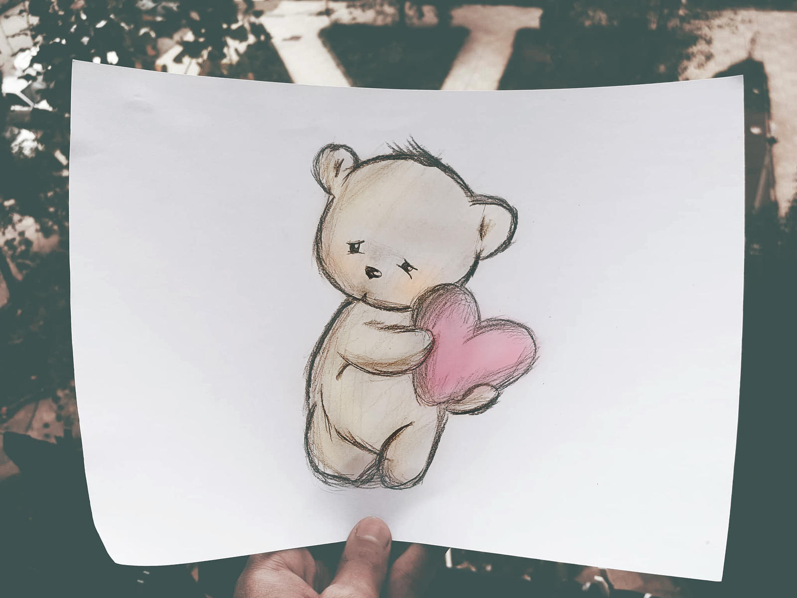 Sad Loving TeddyBear by KhaledReese