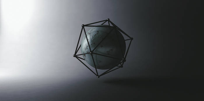 abstract Sphere Render