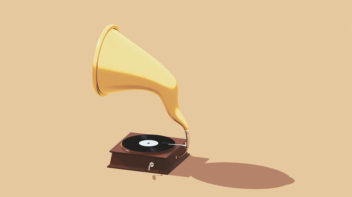 Records Player | Diametric Camera by KhaledReese