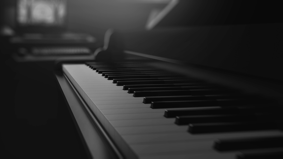3D Photo-realistic Piano by KhaledReese