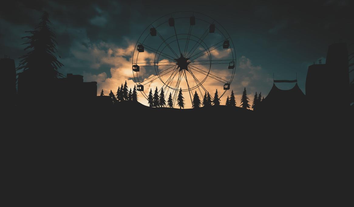 ferris wheel ride by KhaledReese