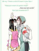 Harem-Amai(genderbend) x Ayano by Koumi-senpai