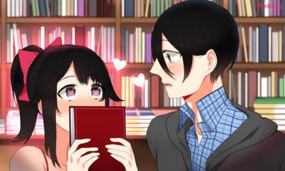 book-chan! by Koumi-senpai