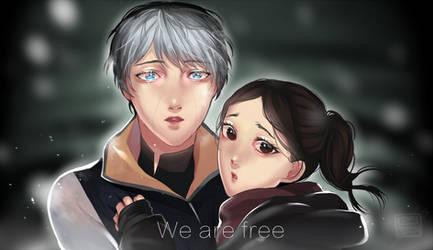 Kara and Alice by Koumi-senpai