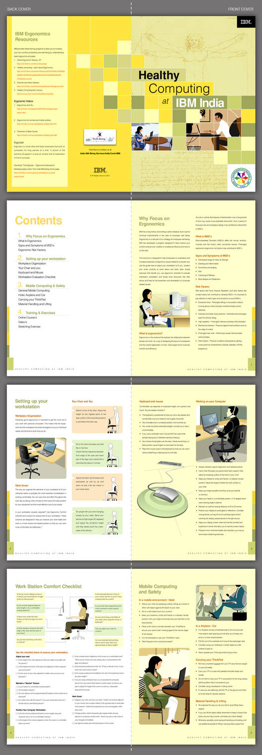 Ergonomics Brochure by pulsetemple