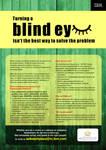 turning a blind eye