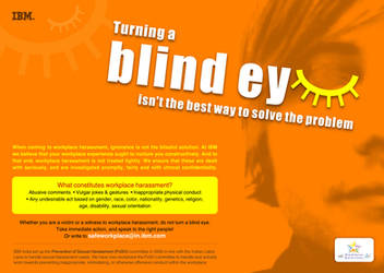 turning a blind eye 3