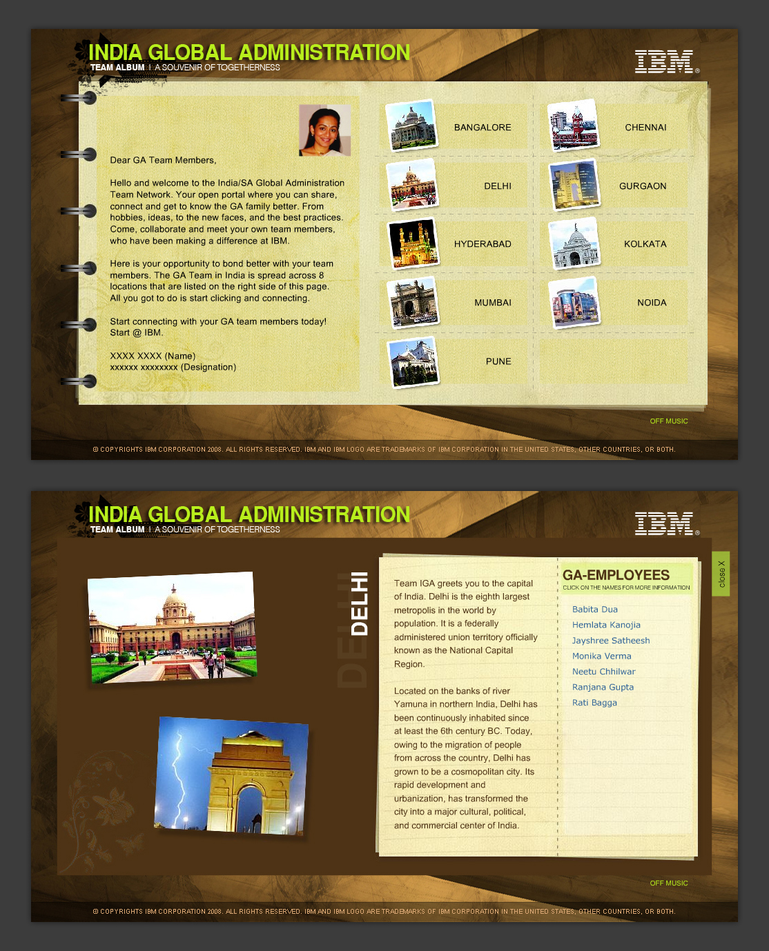 IGA Presenatation Screen Shot by pulsetemple