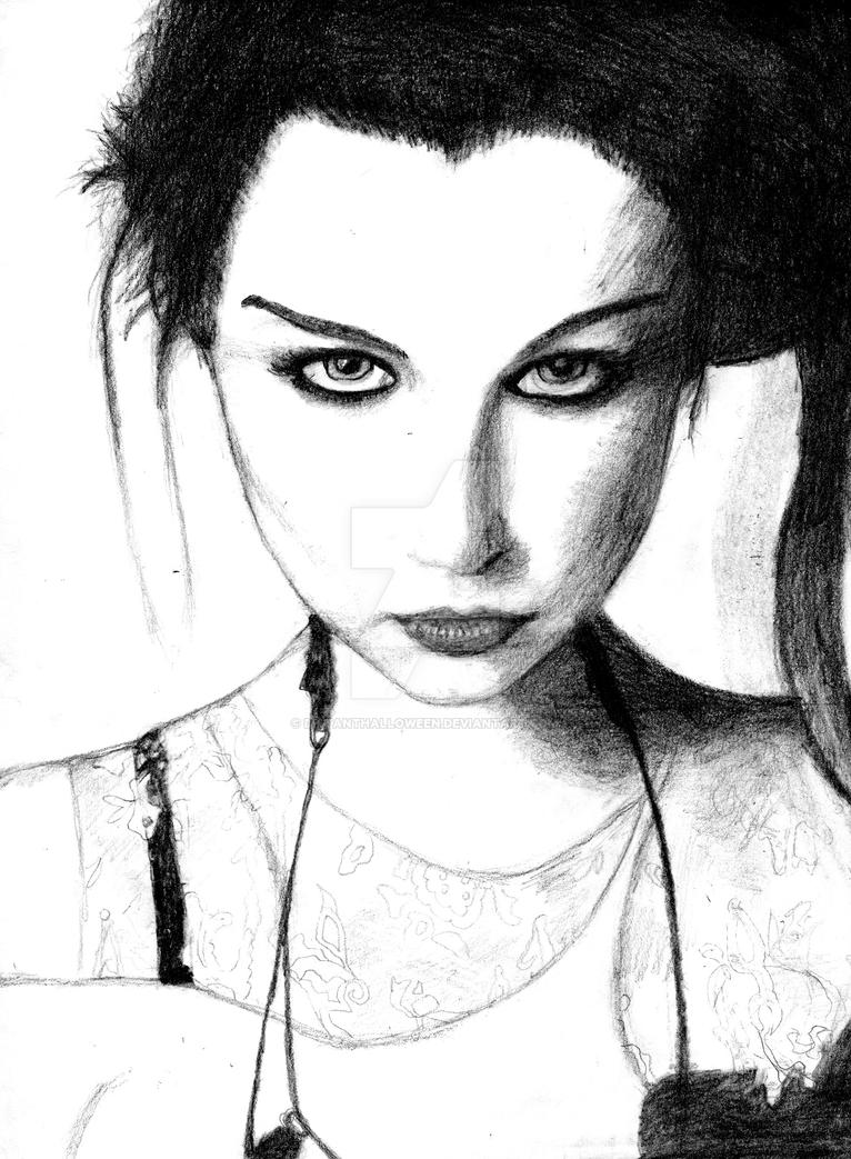 Amy Lee by DistantHalloween