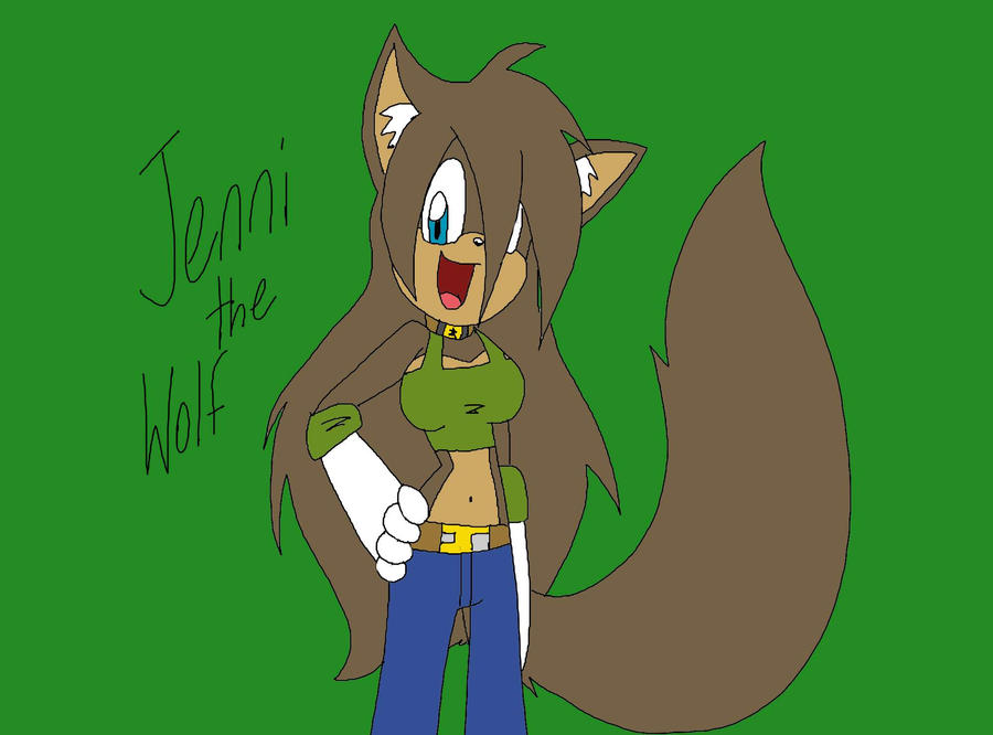 Jenni the wolf by mysteryfanboy718 on deviantart for Jenni wolf