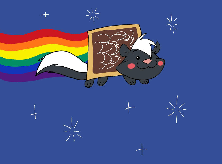 MFB Goes NYAN NYAN by MysteryFanBoy718