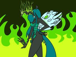 Anthro Queen Chrysalis