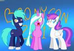The Bronycon Mascots