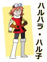 Haruhara Haruko, OK K.O. Style by MysteryFanBoy718