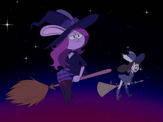 Witchy Wabbits by MysteryFanBoy718