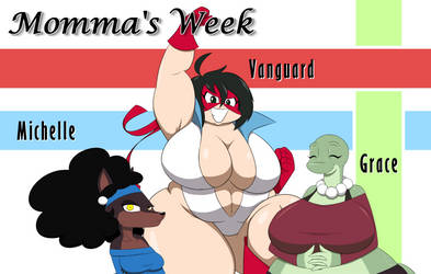 Momma's Week 2019 - SS2Sonic's Moms by MysteryFanBoy718