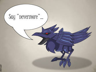 Quoth The Corviknight... by MysteryFanBoy718