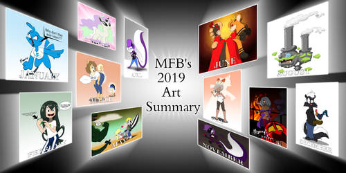 MFB's 2019 Art Summary