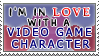 Video Game Character Love
