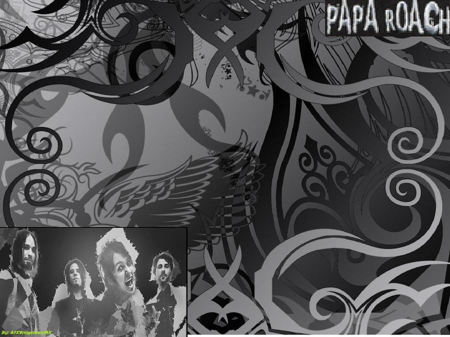 papa roach wallpaper. Papa Roach Wallpaper by