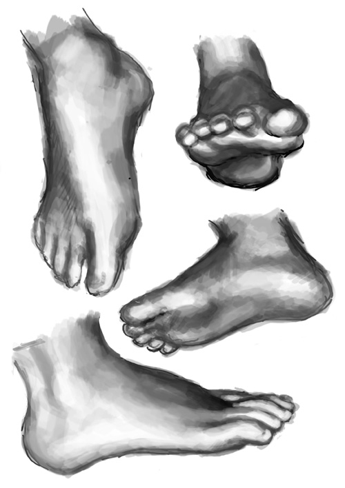 Feet by kristika