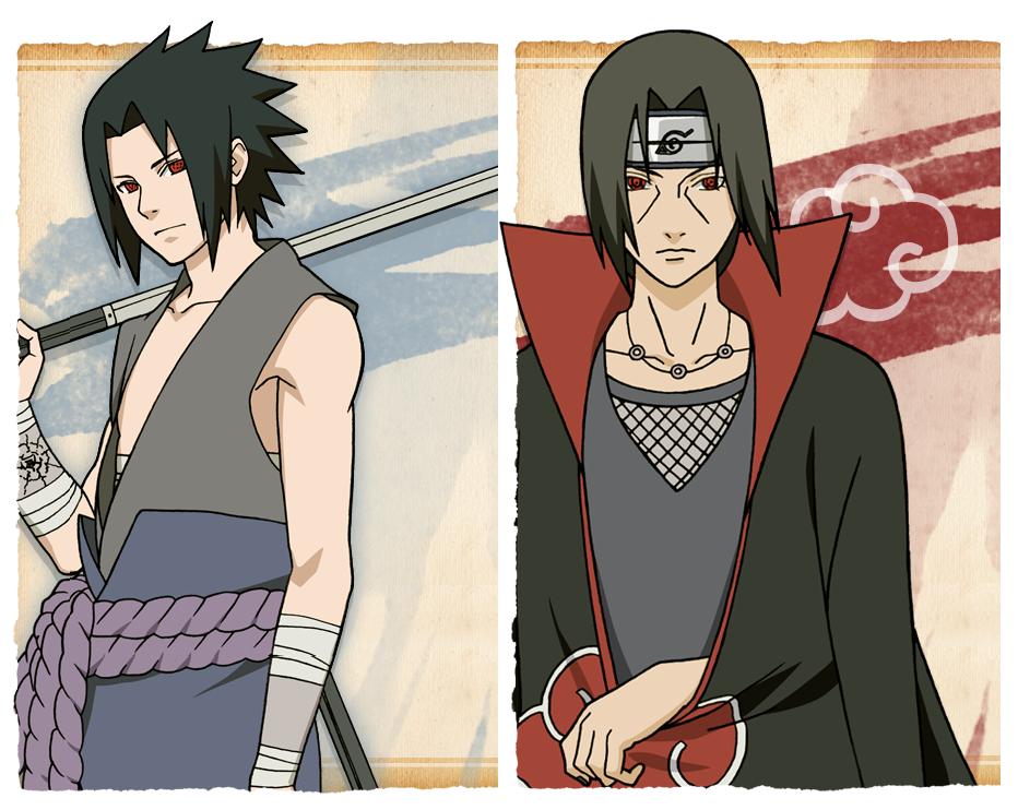 Sasuke Vs. Itachi by antomori on DeviantArt