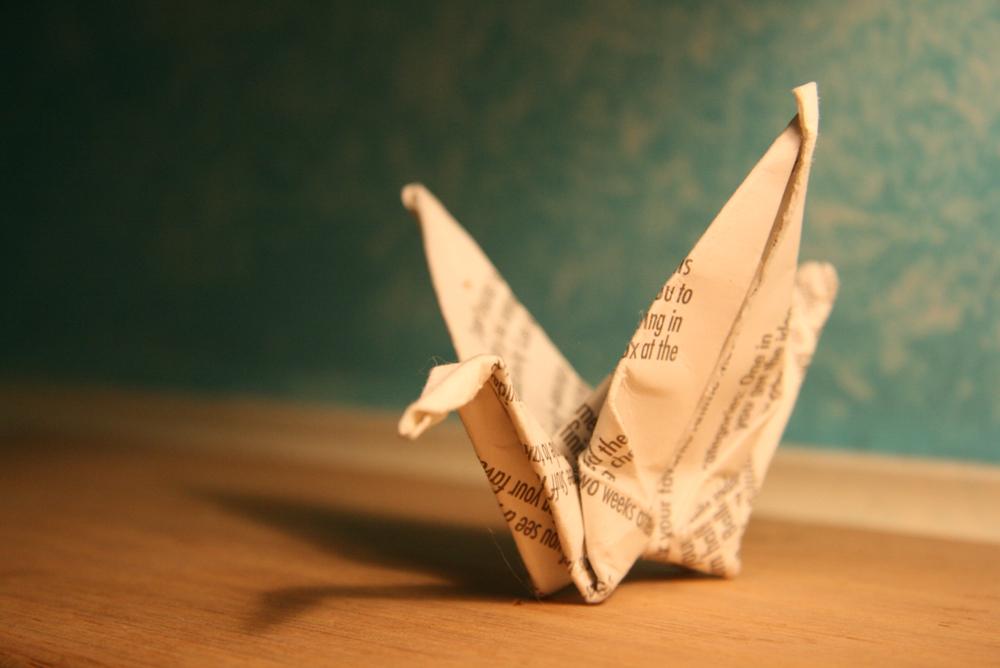 Paper Crane By Adrawer4ever