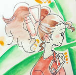 Arrietty Watercolor Study