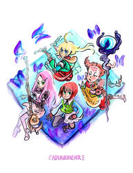 Final Fantasy Tactics Advance | Children Ivalice by adrawer4ever
