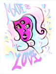 STEVEN UNIVERSE // MADE OF LOVE by adrawer4ever