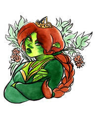 Shrek // Fiona by adrawer4ever