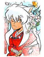 Inuyasha // Spring by adrawer4ever