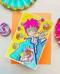 Disastrous Life of Saiki K. // Saiki x Coffe Jelly