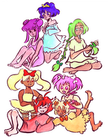 Tokyo Mew Mew // PJ Party by adrawer4ever