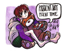 Serial Experiements // LAIN by adrawer4ever