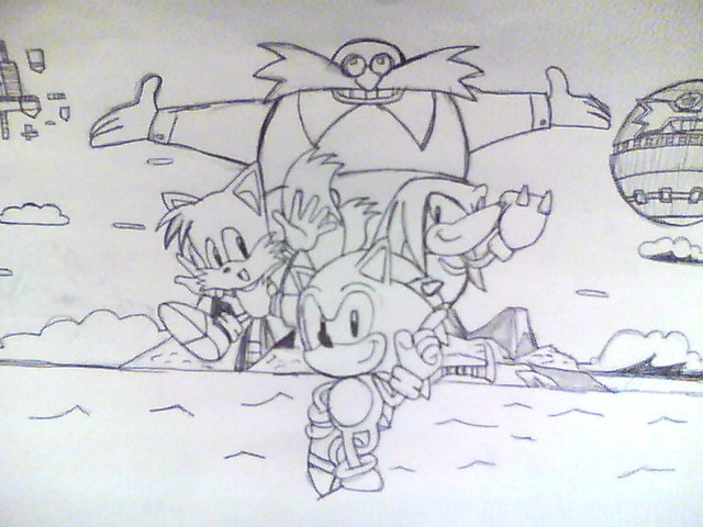 Sonic the Hedgehog 3 and Knuckles by BlueTyphoon17