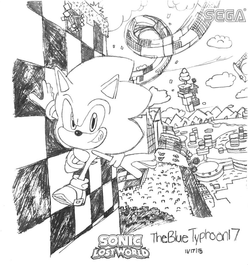 Windy Hill Zone Act 1 by BlueTyphoon17