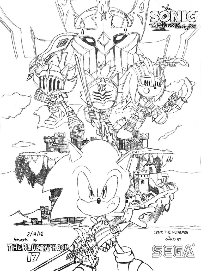 Sonic and the Black Knight Artwork by BlueTyphoon17