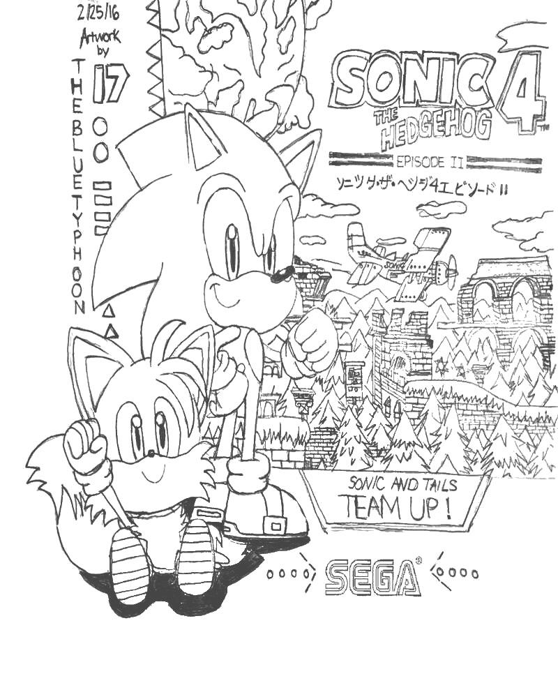 Sonic the Hedgehog 4: Episode II Artwork by BlueTyphoon17