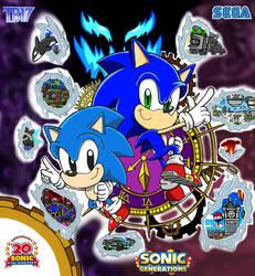 Sonic Generations Artwork by BlueTyphoon17