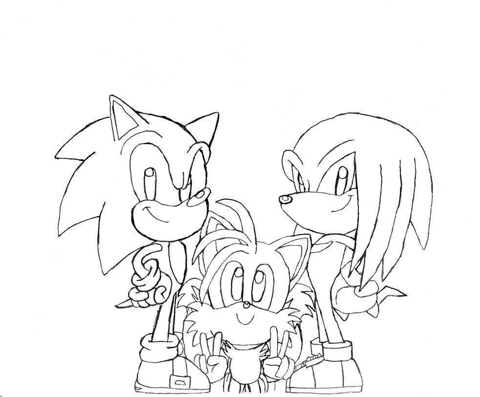 Team Sonic by BlueTyphoon17