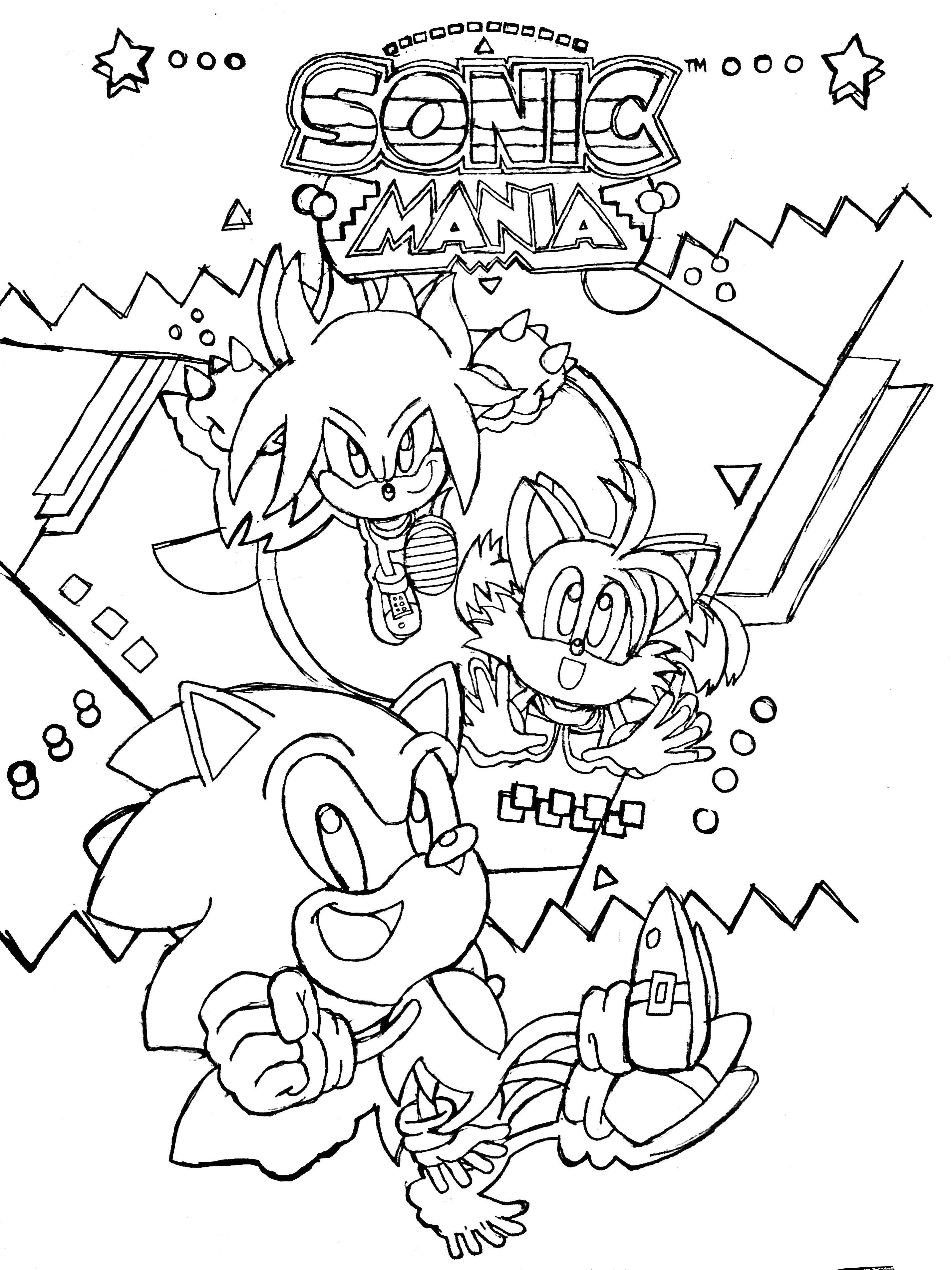 Sonic Mania by BlueTyphoon17