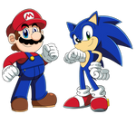 Mario and Sonic - Friendly Rivals