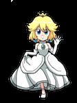 Princess Peach - Short Hair by BlueTyphoon17