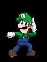 Luigi - Full Body Artwork