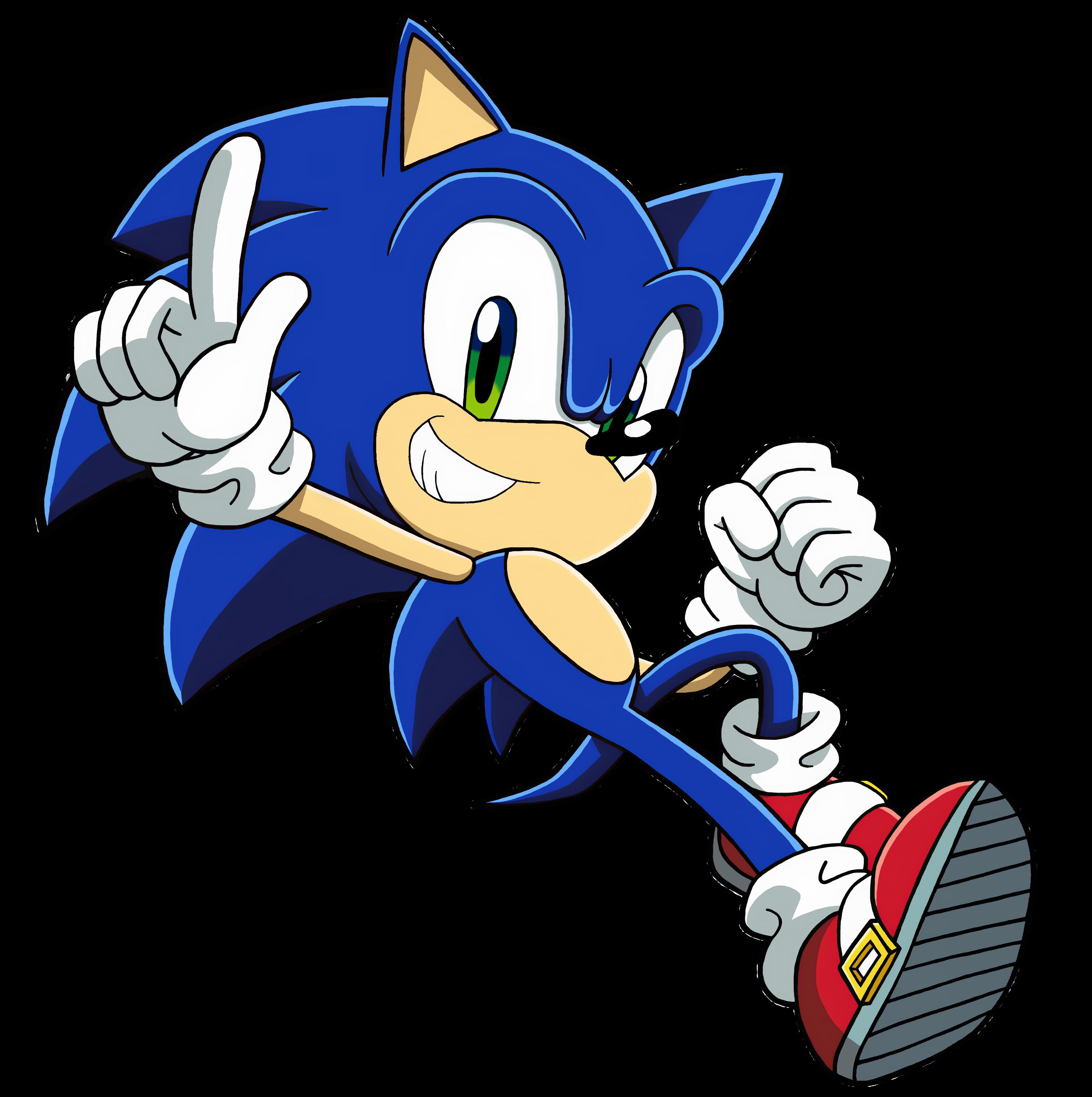 Modern Sonic The Hedgehog By Bluetyphoon17 On Deviantart
