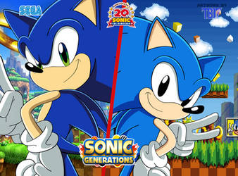 Sonic Generations: WAY PAST COOL!!! by BlueTyphoon17